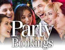 Party Bookings at the Hunters Inn